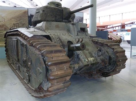 Char B1 | A French heavy tank from 1940 Design of the Char