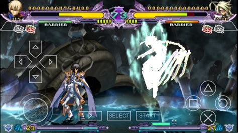 BlazBlue Continuum Shift Extend (Japan) PSP ISO Free
