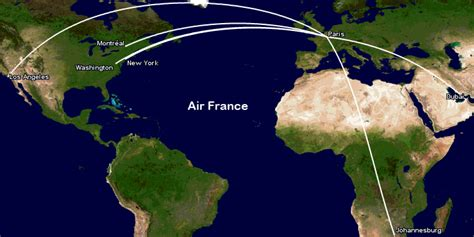 MAP: All the routes flown by all airlines operating the